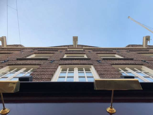 PC Hooftstraat gevelwerkzaamheden